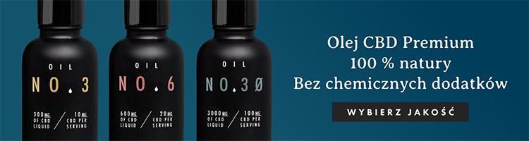 Wysokiej jakości Oleje CBD wyprodukowane w Polsce