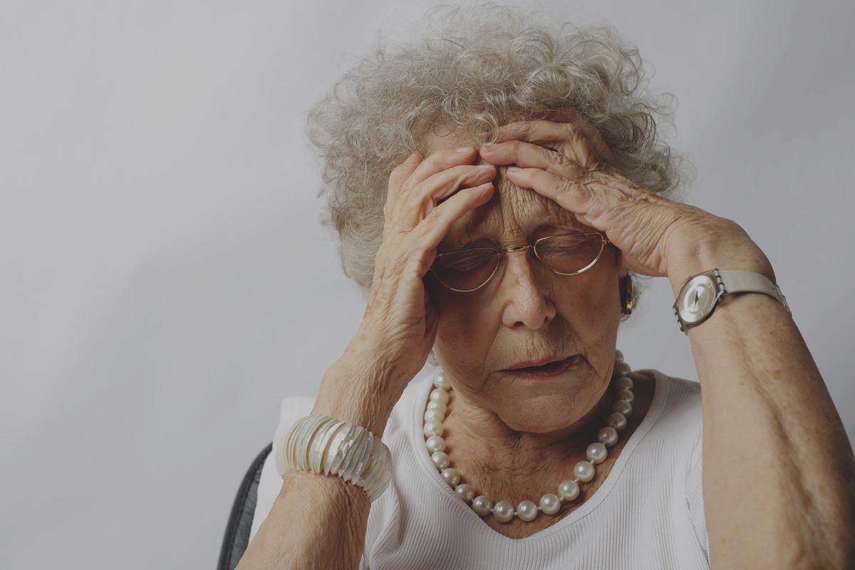 Atak migreny u osoby w podeszłym wieku